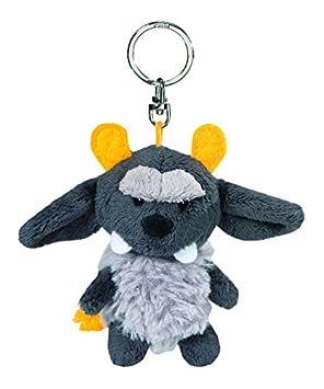NICI - Llavero de peluche monstruo, color gris (34992): Amazon.es: Juguetes y juegos