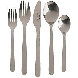 Ikea 900.430.76 Fornuft 20-piece flatware set, stainless steel