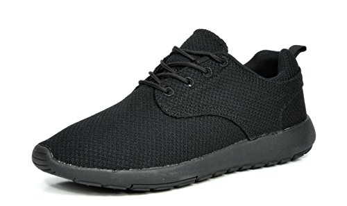 DREAM PAIRS RUN-PRO Men's New Light Weight Go Easy Walking Casual Athletic Comfortable Running Shoes Sneakers Black Size 11