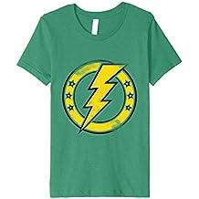 ThunderBolt Lightning Circle Stars Logo Classic Band Shirt