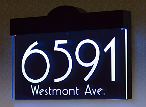 Led Light Address Numbers in Florida - 8