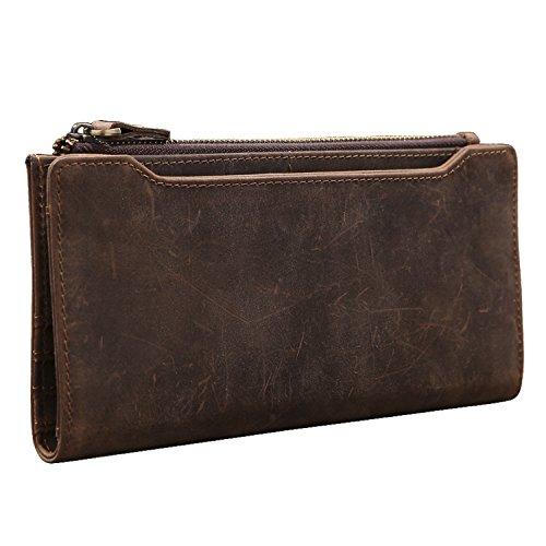Grain Leather Travel Wallet - 3
