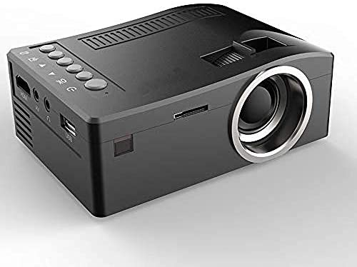 Mini Home Projector Proyector portátil con HDMI Compatible con USB ...