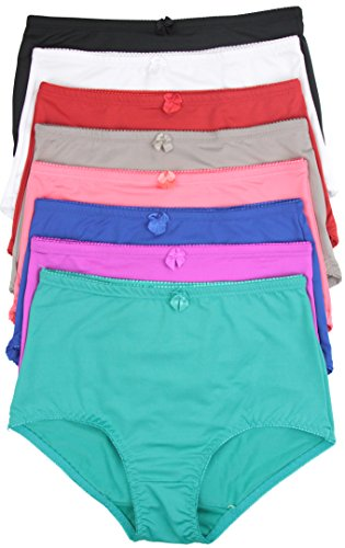 ToBeInStyle Women's Pack of 6 High-Rise Girdle Panties - X-Large (C Section Underwear)