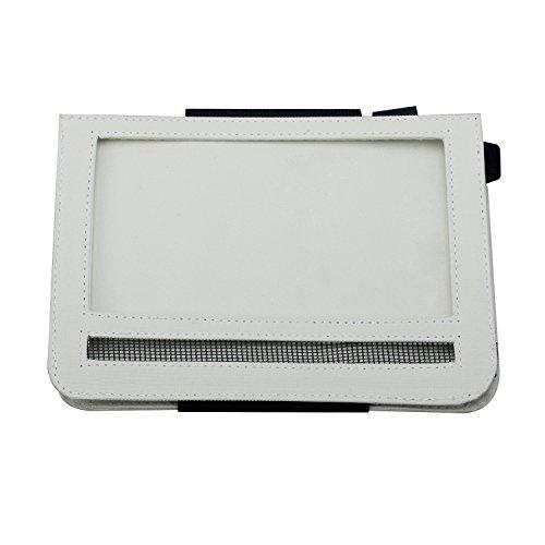 Car Headrest Mount Holder DVD Player Case for 7 Inch Swivel & Flip Style Portable DVD Player,Beige