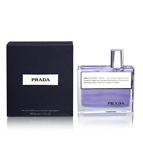 Prada Amber Pour Homme by Prada, 1.7 Ounces Eau De Toilette - Pradas For Sale