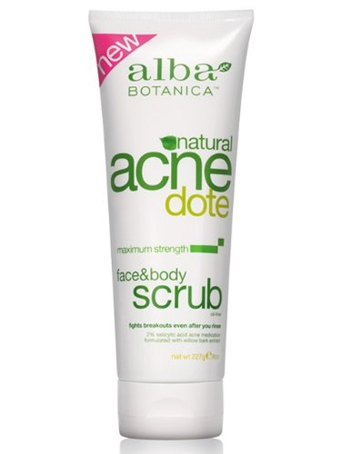 Body Scrub For Back Acne