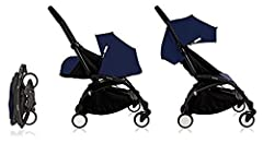 Includes: 1 Babyzen Yoyo+ Stroller Frame - Black 1 Babyzen Yoyo+ 6+ Color Pack - Air France Blue 1 Babyzen Yoyo+ 0+ Newborn Pack - Air Franc When two leading french houses of mobility come together, the result is an exclusive stroller that co...