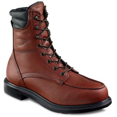- Red Wing 402 Men's 8-inch Boot (9 E US) Brown
