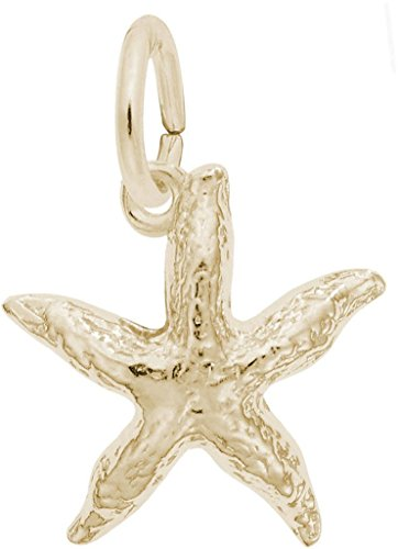 Rembrandt Starfish Charm - Metal - 14K Yellow Gold