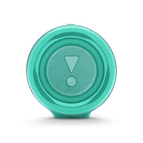 JBL Charge 4 - Enceinte Bluetooth portable avec USB - Robuste et étanche : pour piscine et plage - Son puissant - Autonomie 20 hrs - Turquoise 5
