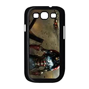 Captain America Samsung Galaxy S3 9300 Phone Case Black white Gift Holiday Gifts Souvenir Halloween Gift Christmas Gifts TIGER156126