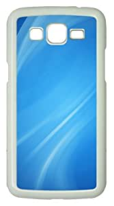 Samsung Galaxy Grand 2 Case - White Lines PC Hard Case for Samsung Galaxy Grand 2 / Samsung Galaxy 7106 - White