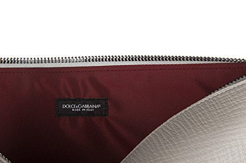 Dolce&Gabbana porte-documents etui passeport homme palmellato gris