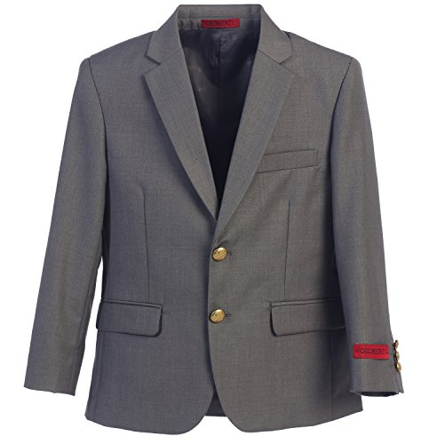 Gioberti Big Boys Formal Gray Blazer Jacket, Size 10