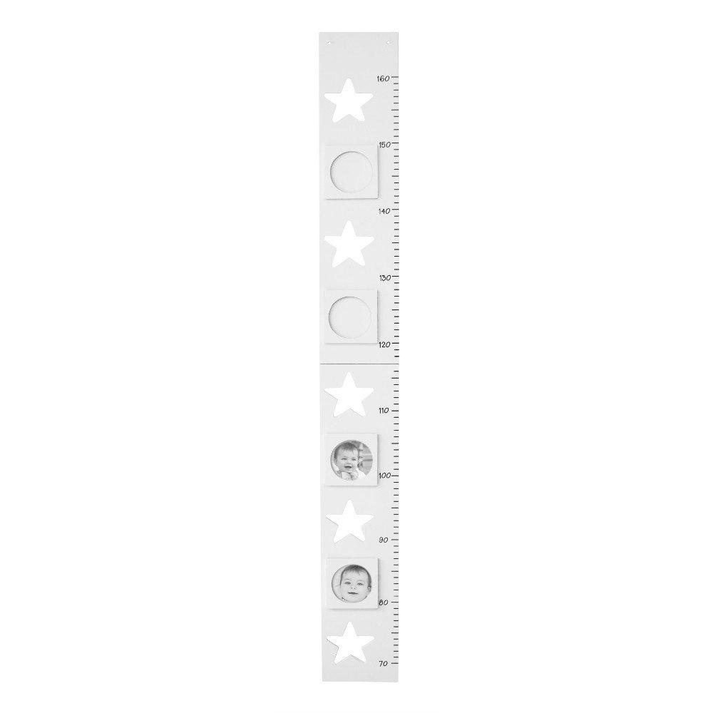 Règle murale Etoile - blanc Kids Concept