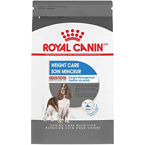 Royal Canin Medium Breed Weight Care Dry Dog Food (30 lb)