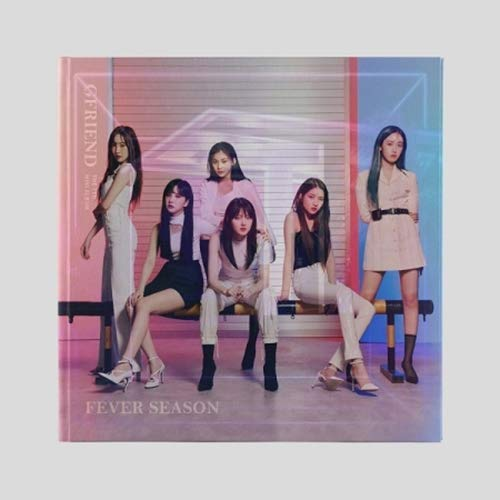 K-POP GFRIEND - Fever Season, 夜 Ya version Incl. CD, 60pg Photobook, 2 x Photocard, Frame Clear Photocard, 2 x Sticker, Pre-Order Benefit, Folded Poster, Extra Photocards Set by Source Music
