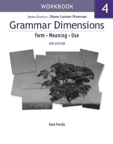 Grammar Dimensions 4 Workbook