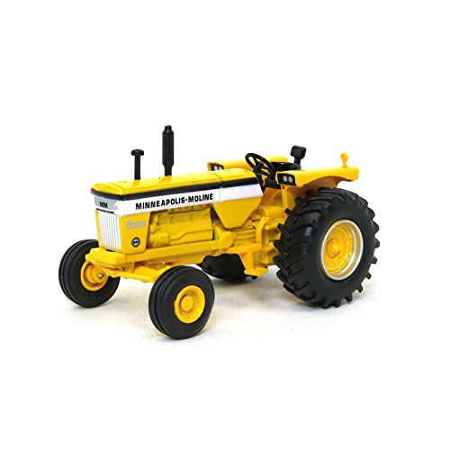 Spec Cast 1/64 Minneapolis Moline G1000 Wide Front Yellow Frame Tractor
