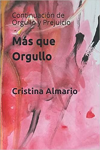 Más que Orgullo de Cristina Almario
