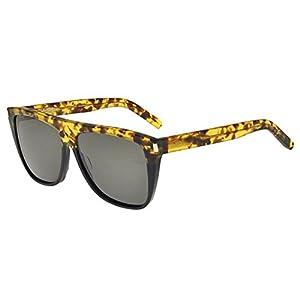Yves Saint Laurent sunglasses (SL-1 010) Transparent Havana - Grey lenses