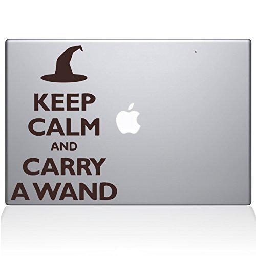 一番人気物 The Decal Guru Keep Macbook Calm and Carry - a Guru Wand MacBook Decal Vinyl Sticker - 13 Macbook Pro (2016 & newer) - Brown (1109-MAC-13X-BRO) [並行輸入品] B0788FT6ZL, Mathematics:55b60e89 --- svecha37.ru