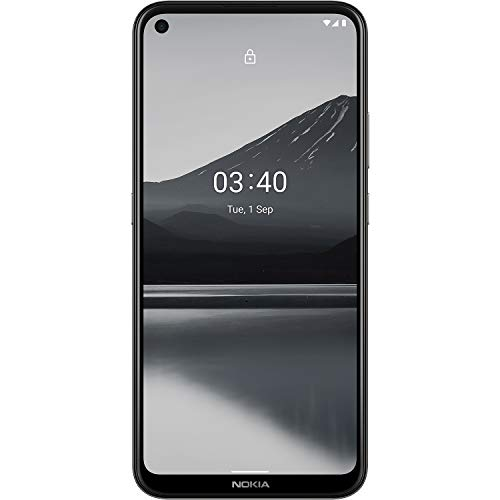 Nokia 3.4 Unlocked Android Smartphone with 3/64 GB Memory, 6.39-Inch HD+ Screen, Triple Camera, and 2-Day Battery, Charcoal (AT&T/T-Mobile/Cricket/Tracfone/Simple Mobile/Mint/Ultra Mobile)