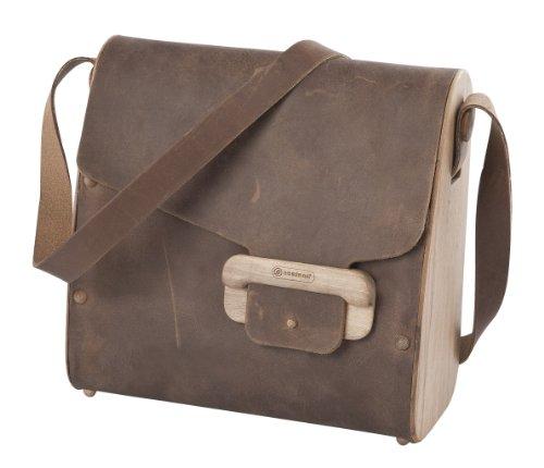 Joli sac à main modèle nussbag woody nut marron