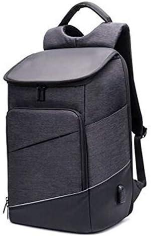 メンズバックパック,15インチのラップトップを保持できる多機能バックパック、防水大容量のバックパック、USBインタフェースバッグ