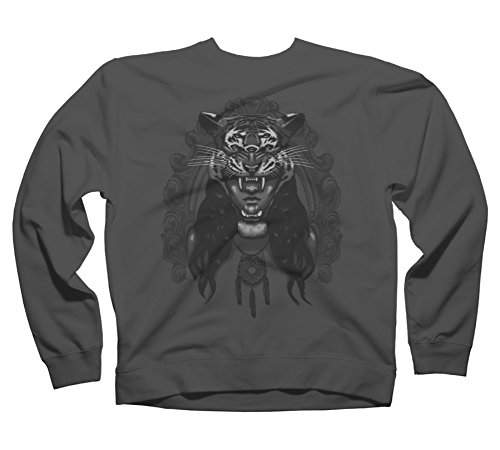 Dream Gypsy Men's 2X-Large Charcoal Graphic Crew Sweatshirt - Design By Humans
