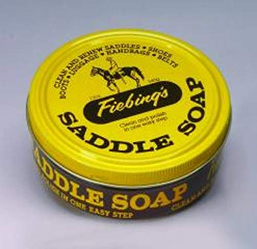 - Fiebing's Yellow Saddle Soap, 12 Oz. - Cleans, Softens and Preserves Leather