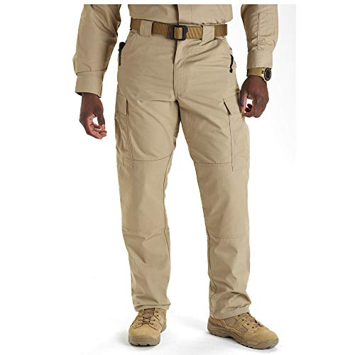 5.11 Tactical Men's Ripstop TDU Pants, TDU Khaki, Large/Regular
