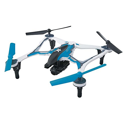 Dromida XL First Person View Ready-to-Fly 370mm Radio Control Drone with 1080p HD Camera (Blue)