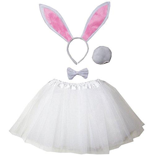 (Kirei Sui Kids Costume Tutu Set White)