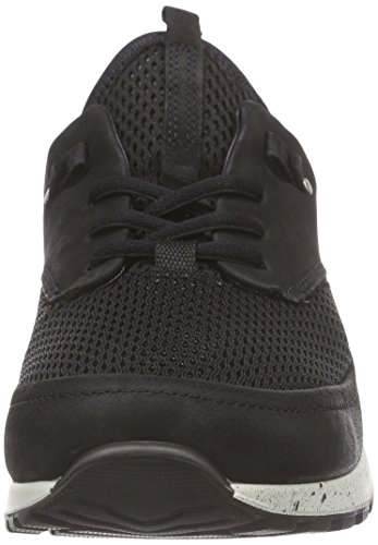 Noir Ecco Baskets Ladies Black Basses Cs14 Black53859 Femme Black gW7qP