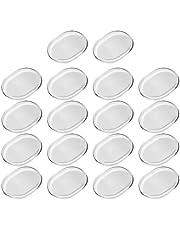 Apofly 18 almohadillas amortiguadoras de tambor, silenciadoras de tambor, almohadillas de gel de silicona suave y transparente, amortiguadoras silenciadoras para control de tono de tambores