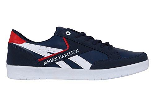 Megan Harisson - Zapatillas de Lona para hombre Azul