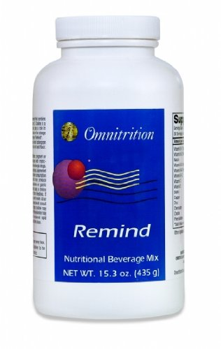 Remind Fruit Flavor Nutritional Beverage Mix - a Natural Flavored Dietary Supplement (15.3 Ounces) by Omnitrition
