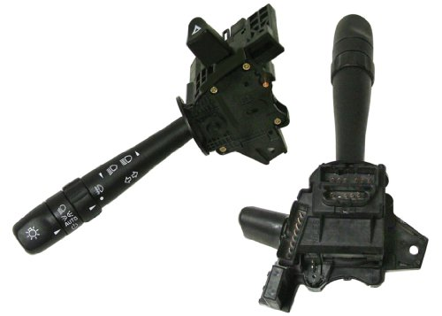 ACDelco D6276C GM Original Equipment Turn Signal, Headlight, Dimmer, Windshield Wiper and Hazard Switch with Lever (Headlight Switch Prix Grand Pontiac)