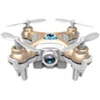BININBOX Mini FPV 2.4Ghz 6 Axis Gyro RC Headless Quadcopter Drone With HD Wifi Camera Training LED Flash Light Gold