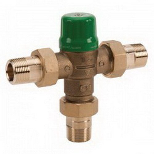 Taco 5003-C3 Series 5000 Mixing Valve, 3/4'' Sweat Connection, Forged Brass