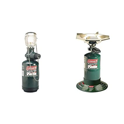 Amazon com : Coleman Compact Propane Lantern and PefectFlow Stove