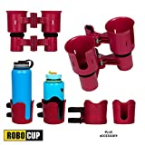 ROBOCUP, RED, Updated Version, Best Cup Holder for