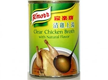 Clear Chicken Broth w/ Natural Flavors - 13.4fl Oz (Pack of 1)