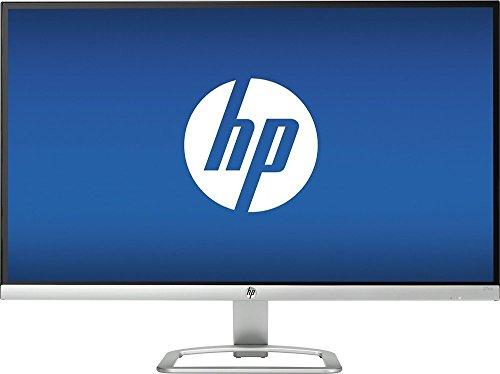 2016 Model - HP 27 inch 27es IPS LED Full HD ( 1080P ) Ultrafast Monitor - HDMI - VGA - Natural silver