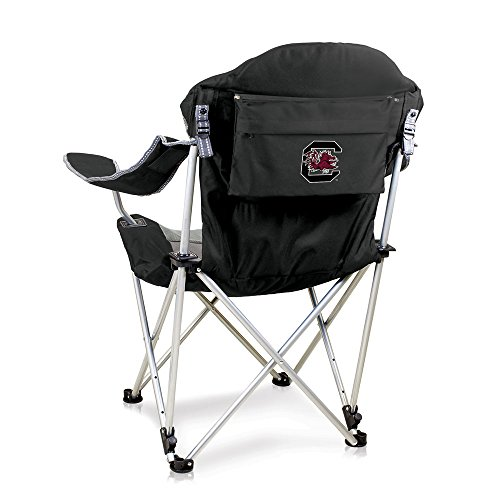 Fishing Fighting Chair (NCAA South Carolina Fighting Gamecocks Reclining Camp Chair, Black)