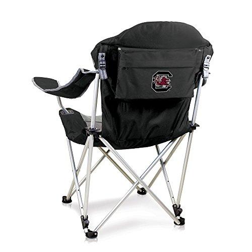 Fishing Fighting Chair (NCAA South Carolina Fighting Gamecocks Reclining Camp Chair, Black)