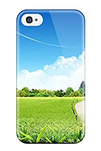 6372258K49600385 Tpu Case For Iphone 5C With Future Village