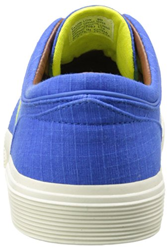 Polo Ralph Lauren Hombres Faxon Low Fashion Ripstop Sneaker Colby Blue